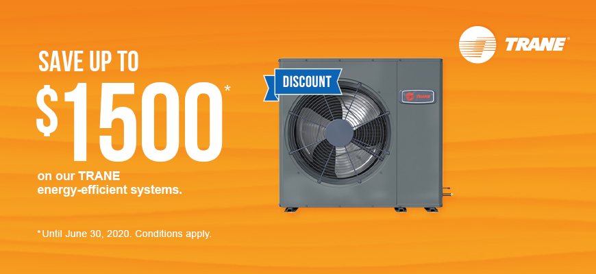 Trane energy-efficient systems promo